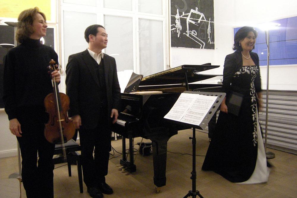 Kammerkonzert im Kunsthaus Achim Freyer